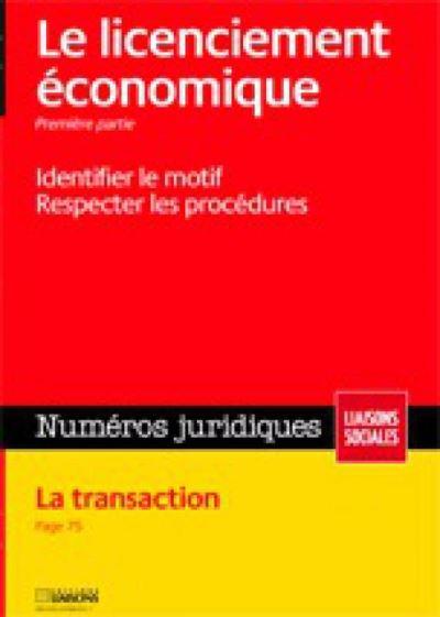 Licenciement économique