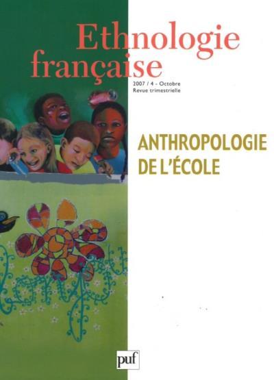 Anthropologie de l'école