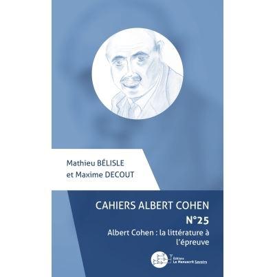 Cahiers Albert Cohen