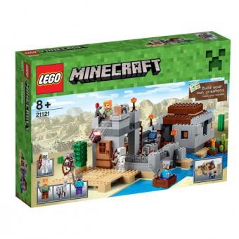 LEGO MINECRAFT 21121 - WOESTIJN UITKIJKPOST