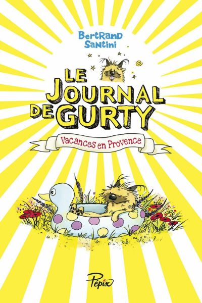 Le Journal de Gurty (Tome 1) – Vacances en Provence - 9782377313266 - 10,49 €