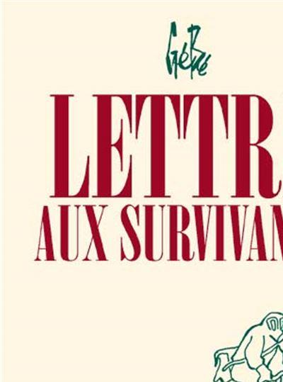 Lettre aux survivants