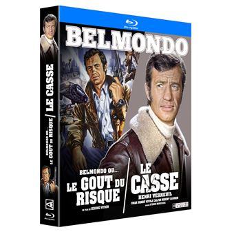 Coffret Le Casse et Belmondo ou le goût du risque Blu-ray