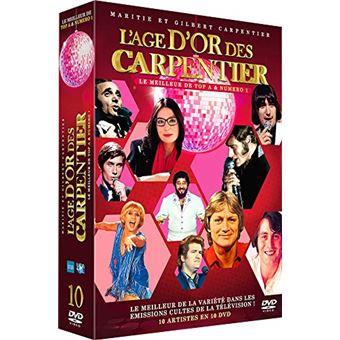 L'Age d'or des Carpentier Le meilleur de la variété dans les émissions cultes de la Télévision ! Coffret Edition Collector DVD