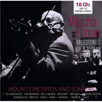 MILESTONES OF VIOLIN LEGEND/10CD