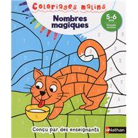 Nombres magiques GS 5/6 ans - Coloriages malins