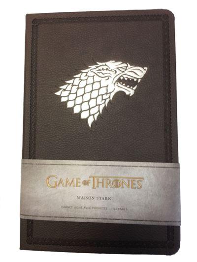 Le trône de fer, carnet de luxe maison Stark