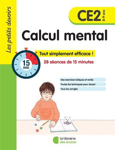 Les petits devoirs 2019 CE2 calcul mental