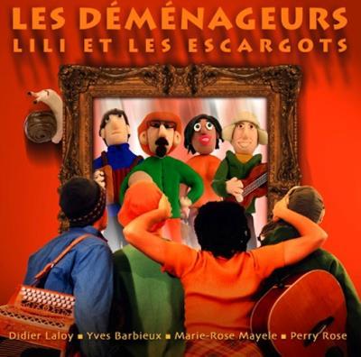 Lili et les escargots - Les Déménageurs - CD album - Achat & prix   fnac