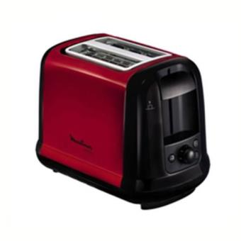 Toaster Moulinex LT260D11 Subito Rouge Inox