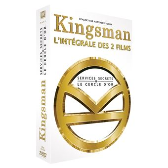 Kingsman, services secretsKingsman : Services Secrets + Kingsman : Le Cercle d'or - Coffret DVD