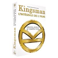 Coffret Kingsman : Services Secrets et Kingsman : Le Cercle d'or DVD