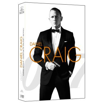 Coffret Bond Daniel Craig 3 films DVD