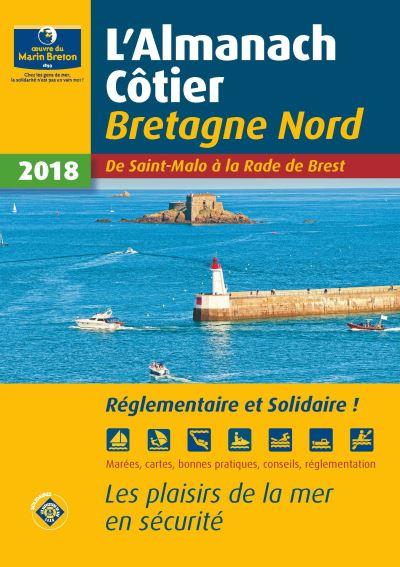 Almanach côtier 2018 Bretagne Nord