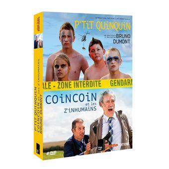 Coincoin et les Z'inhumainsCoffret P'tit Quinquin CoinCoin et les Z'inhumains DVD