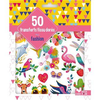 50 transferts tissu fashion