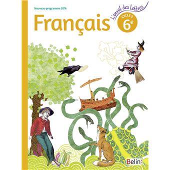 L'envol des lettres, Français 6ème, Cycle 3