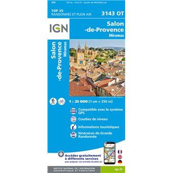 Salon de provence miramas top 25 3143 ouest echelle 1 25 000 collectif achat livre fnac - Animalerie salon de provence ...
