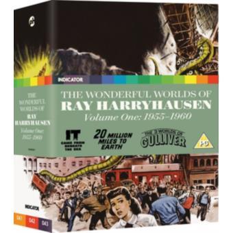Coffret The Wonderful Worlds of Ray Harryhausen Volume One: 1955-1960 Blu-ray