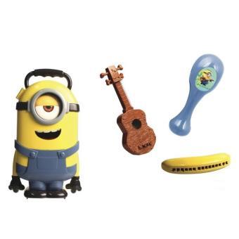 Mallette Minion Stuart avec 3 instruments de musique Minions