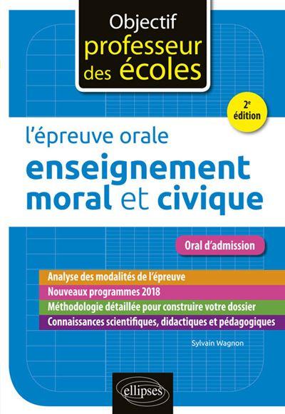Lépreuve orale denseignement moral et civique