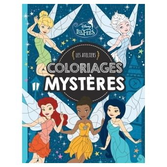 Fee Clochette Les Ateliers Disney Coloriages Mystere Fee Clochette Les Ateliers Disney Coloriages Mystere