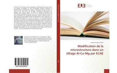 Modification de la microstructure dans un alliage Al-Cu-Mg par eCAe