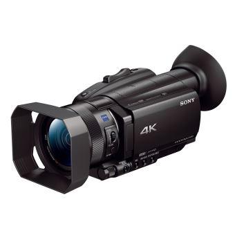 Caméscope Sony AX700 4K WiFi et NFC Noir