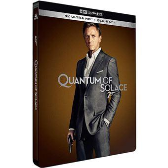 James BondQuantum Of Solace Steelbook Blu-ray 4K Ultra HD