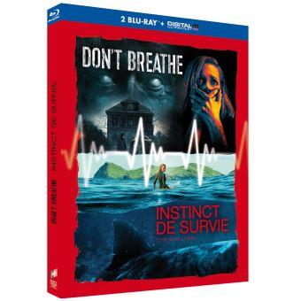 Coffret Don't breathe Instinct de survie Blu-ray