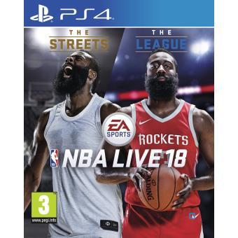 NBA LIVE 18 MIX PS4