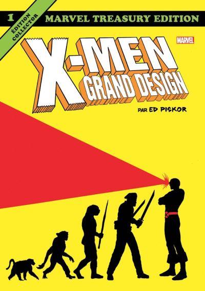 X-Men Grand Design (Par Ed Piskor) T01 - 9782809483352 - 17,99 €