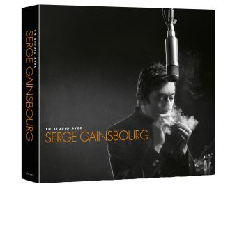 En studio avec Serge Gainsbourg Digipack