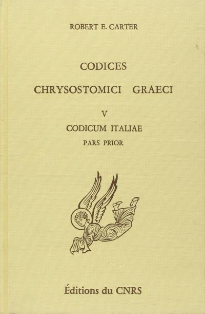Codices chrysostomici graeci V - D.E.R