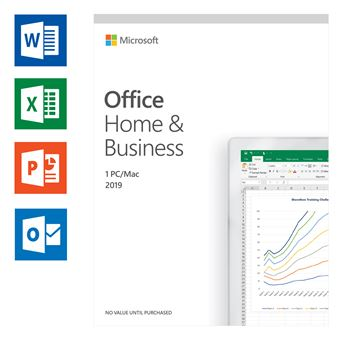 Microsoft Office 2019 Home & Business UK