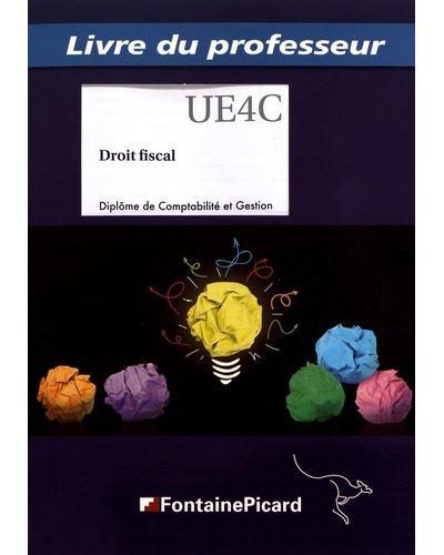 Droit fiscal DCG - Livre du professeur
