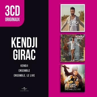 KENDJI/ENSEMBLE/ENSEMBLE LE LIVE/3CD