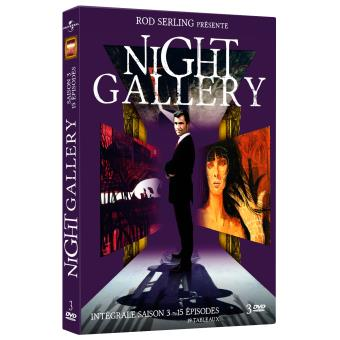Night galleryNight Gallery Saison 3 DVD