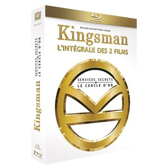 Kingsman, services secretsCoffret Kingsman : Services Secrets et Kingsman : Le Cercle d'or Blu-ray
