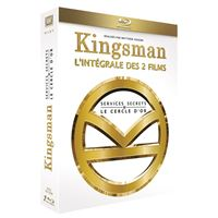 Coffret Kingsman : Services Secrets et Kingsman : Le Cercle d'or Blu-ray