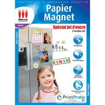 Micro Application Papier Magnet