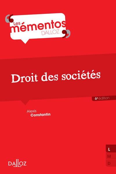 Droit des sociétés - 7e éd.