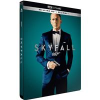 Skyfall Steelbook Blu-ray 4K Ultra HD