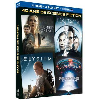 40 ans de science fiction/coffret/premier contact/elysium