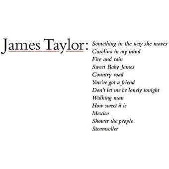 James Taylor'S Greatest Hits - Vinilo