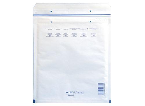10 pochettes matelassées à bulles Clairefontaine 175x265mm Kraft Blanc 90g