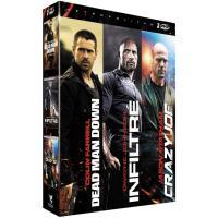 ACTION-3 DVD-DEAD MAN DOWN-INFILTRE-CRAZY JOE-VF
