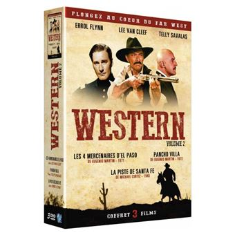 Coffret Western Volume 2 DVD