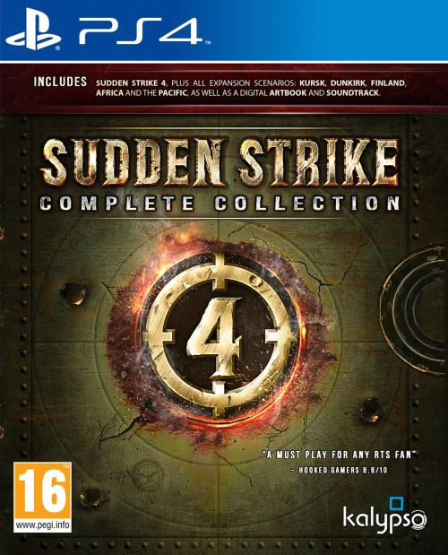 Sudden Strike 4 Complete Collection PS4