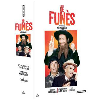 LOUIS DE FUNES-COFFRET 3DVD-FR